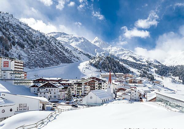 Ortsaufnahme Obergurgl Winter