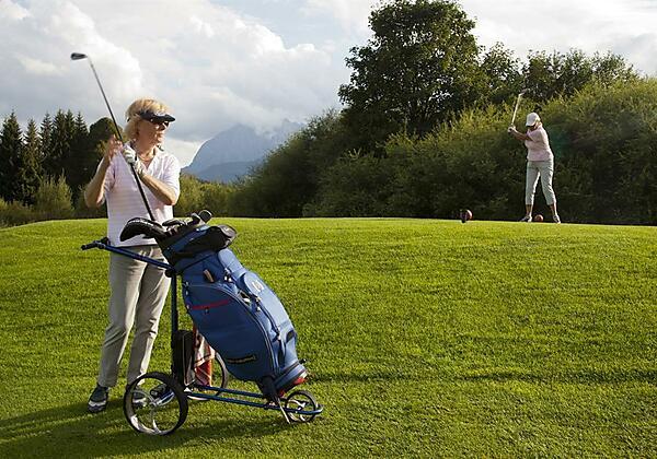 Kaiserwinkl, Sommer, Golfen