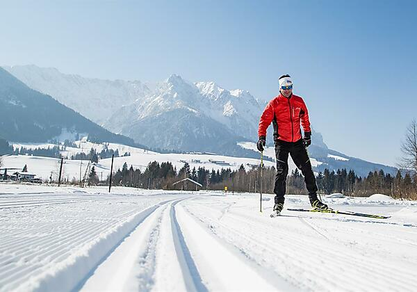 Kaiserwinkl, Winter, Langlaufen