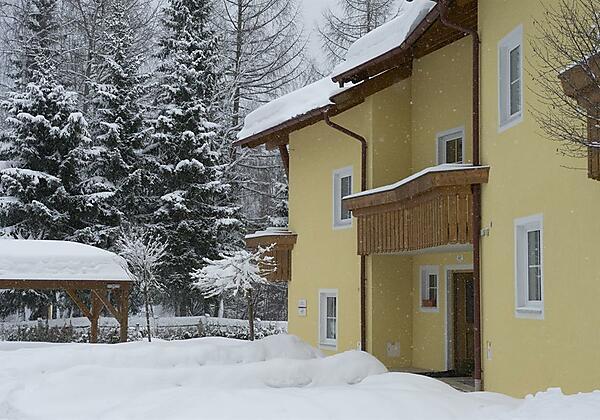 Eingang Winter-Haus Rückseite