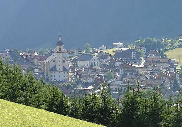 Haus Fernblick Ausblick Richtung Neustift Dorf