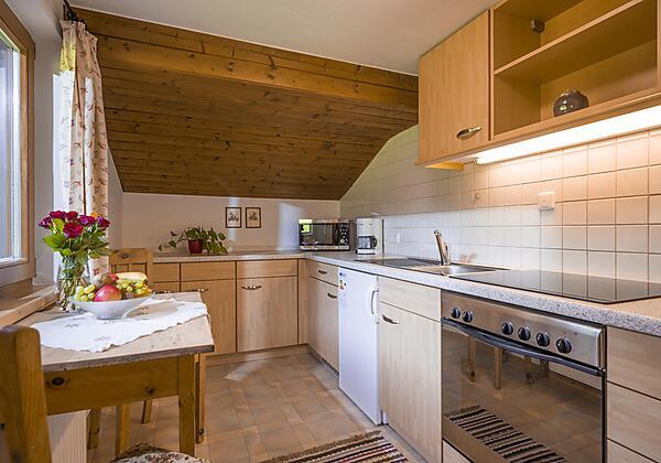 Badezimmer Appartement Naturgenuss