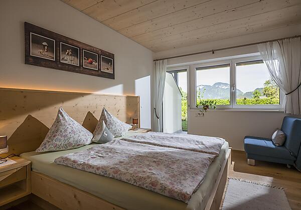 Schlafzimmer Appartement Naturgenuss