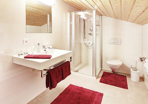 App. Bergblick 1. Badezimmer