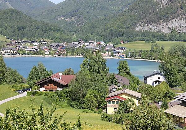 Balkonblick auf Fuschl am See