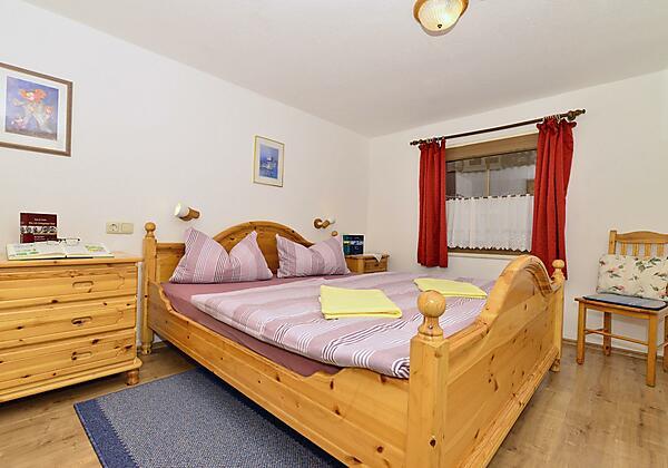 Schlafzimmer Nr. 2 in Fewo 1