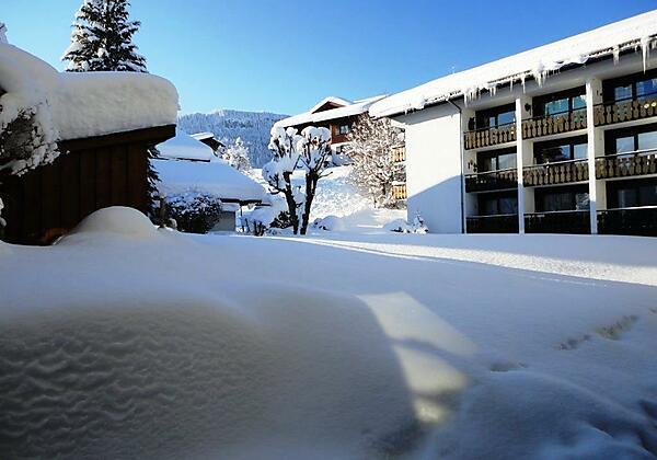 Haus Obermaiselstein im Winter
