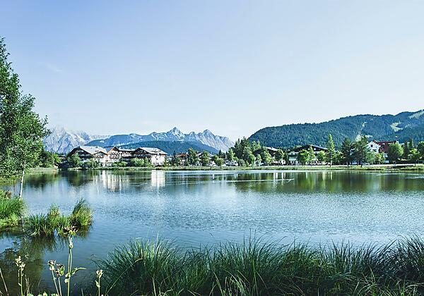 Haus Salzburg Winter Seefeld in Tirol
