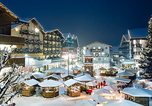Romantischer Adventmarkt in Seefeld