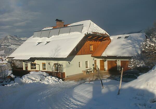 Haus Schober im Winter