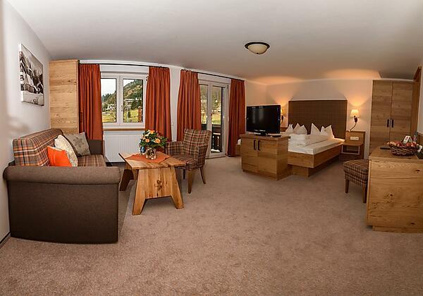 Doppelzimmer Rotspitz Beispiel