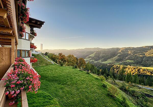 """Aussicht vom Balkon """"Sweet Nathalie und Stefanie"""""""