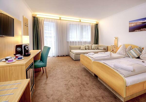 Hotel Bergkristall Doppelzimmer deluxe