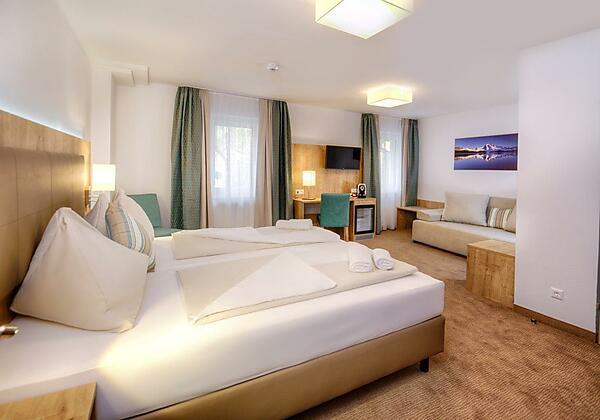 Hotel Bergkristall Doppelzimmer Standard