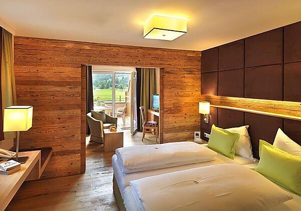 Badezimmer der Zirbenrimmer
