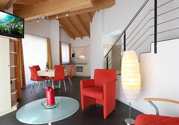 3-Zimmer-Duplex-Apartement im Hotel Garni Feehof