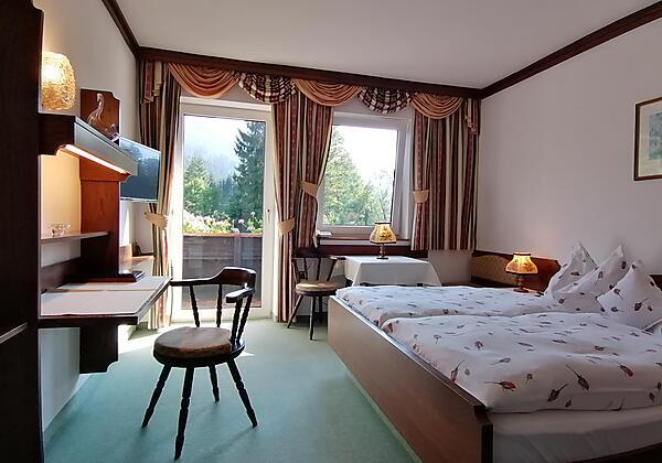 Eingangsbereich im Landhaus Bürtlmair