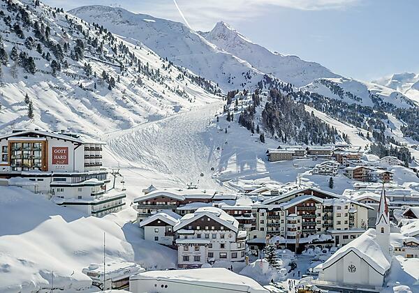 Restaurant im Hotel Gotthard-Zeit in Obergurgl