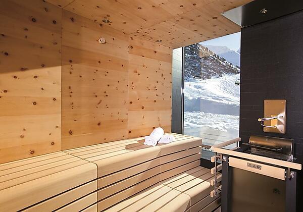 Sauna im Hotel Gotthard-Zeit