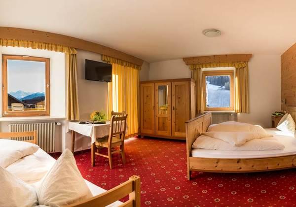 Doppelzimmer im Hotel Lamm in St. Valentin