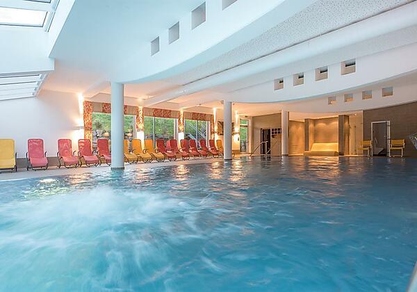 Pool Hotel Leonhard Leogang