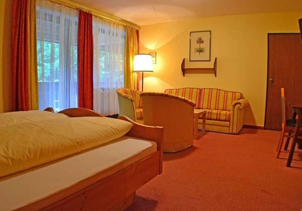 Blick in ein Doppelzimmer im Hotel Mooserkreuz