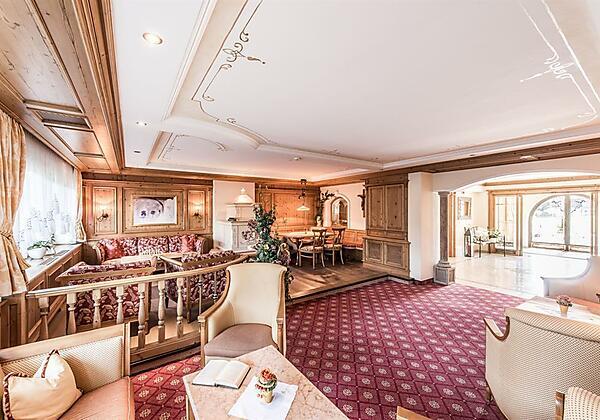 Lobby im Hotel Riedl