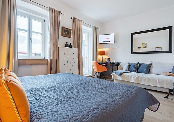Doppelzimmer / Dreibettzimmer mit Seeblick