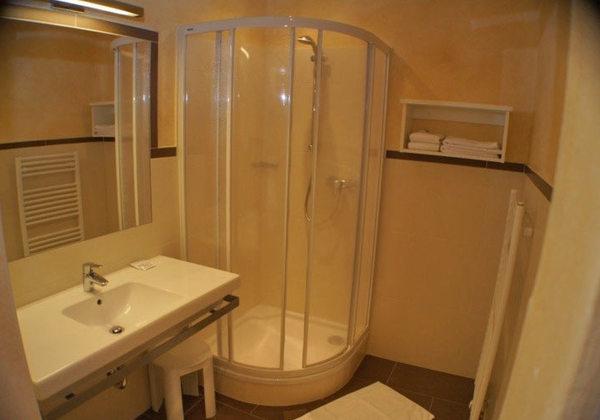 Badezimmer im Hotel Sonneck in Rohrmoos-Schladming