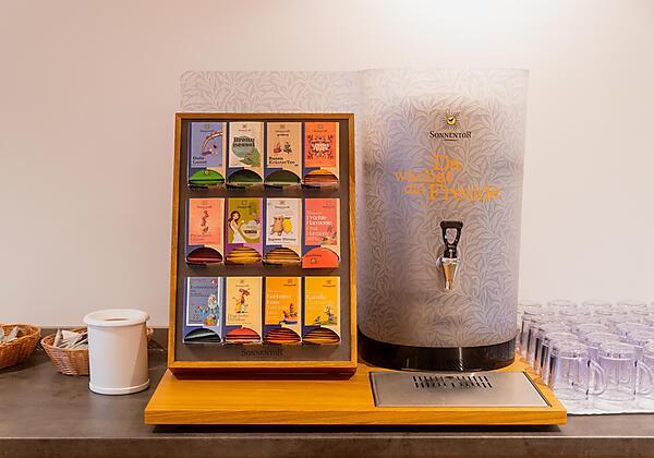 Bio-Kräuter Sauna 60° mit Panoramblick