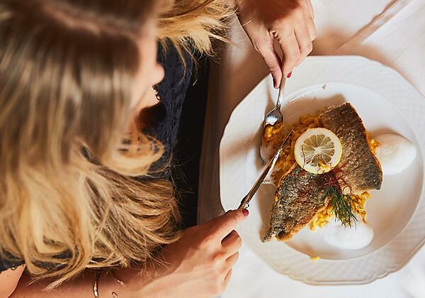 Abendmenü Fisch