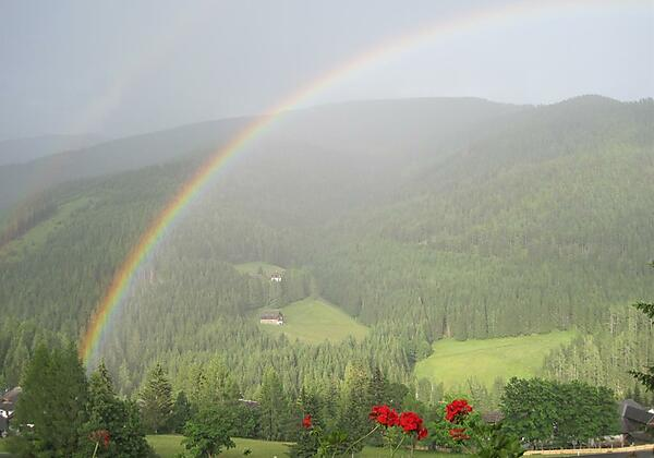 Naturschauspiel Regenbogen