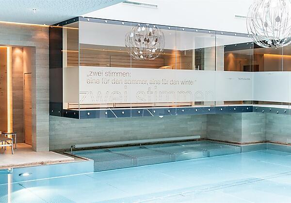 Textilsauna-Pool