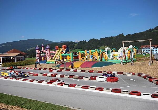 Hotel Unterberghof im Sommer