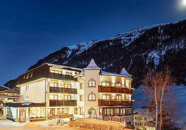 Hotel Venter Bergwelt Winter - Nacht