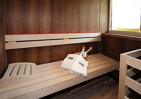 Suite mit privater Finnischer Sauna und Terrasse