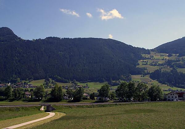 Aussicht Hotel Zum Senner Zillertal