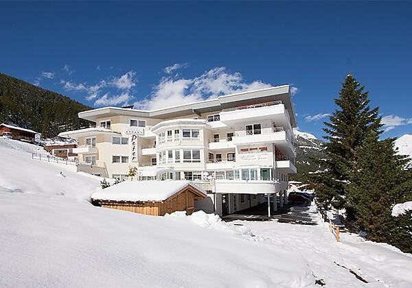 Aussenaufnahme  Winter Hotelappart Peter