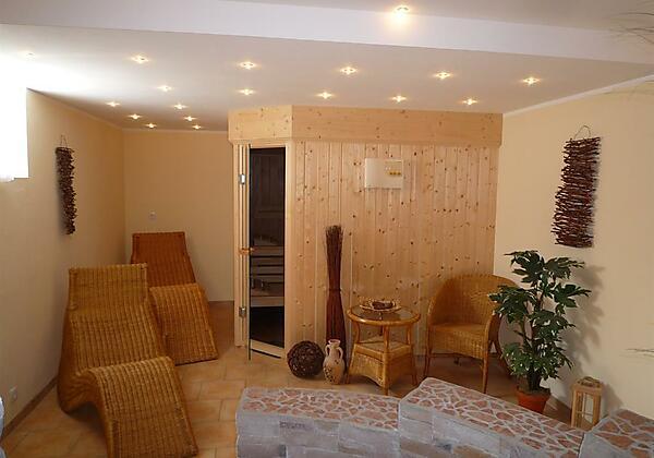 Sauna im Haus für unsere Gäste