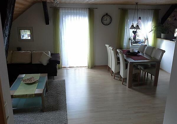 Wohn- Eßzimmer