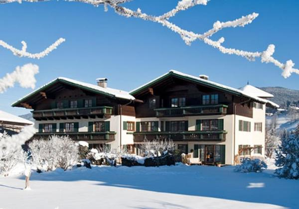 Pension Kreuzer im Winter