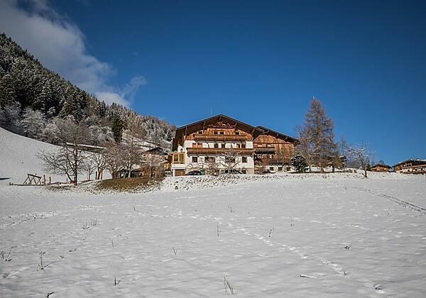 Pension Ladestatthof im Winter