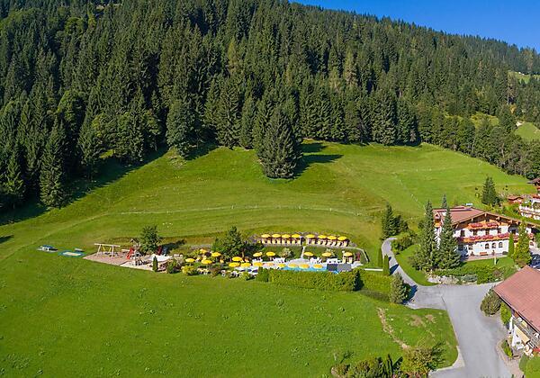 Landhaus Hubertus im Winter