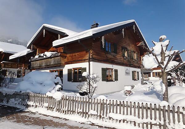 Unser Landhaus Paradies im Winter