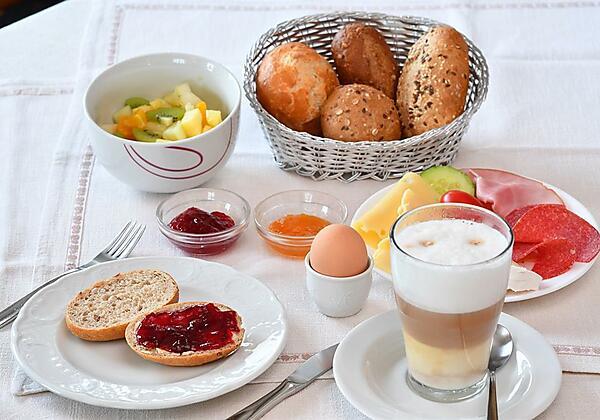 Landhaus Ruppaner - Reichhaltiges Frühstück