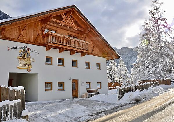 Landhaus Waldhart im Winter