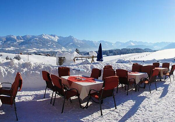 Freiterrasse- Winter 2