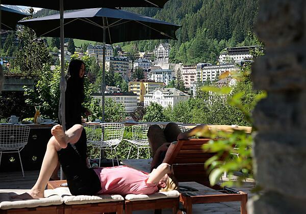 Hotel Miramonte Bad Gastein Terrasse