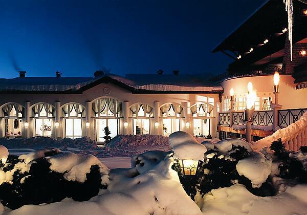 Hotel Moisl im Winter