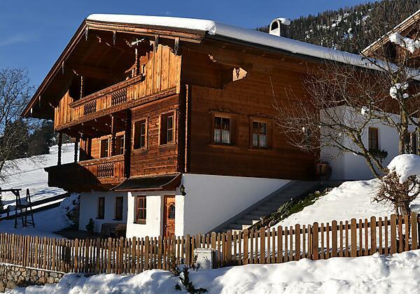 Haus Moosanger im Winter